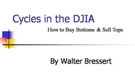 Cycles in the DJIA by Walter Bressert | Audio Books | Business and Money