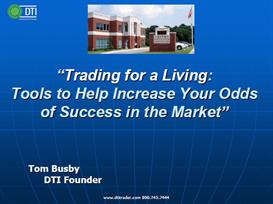 trading for living using time of day, key numbers and market indicator