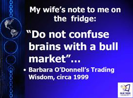 Do Not Confuse Brains with a Bull Market by John ODonnell | Audio Books | Business and Money