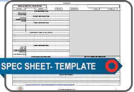 apparel spec sheet template - blank
