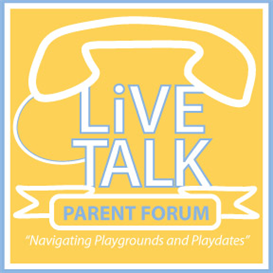Parent Forum- Navigating Playgrounds and Playdates | Audio Books | Health and Well Being