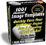1001 Custom eCover Image Templates &amp; Software Plus