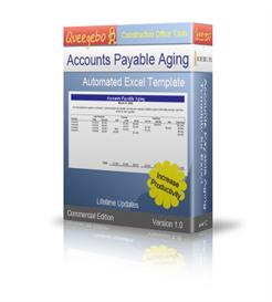 accounts payable aging worsheet excel template