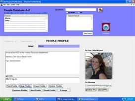 People Profile Book | Software | Utilities