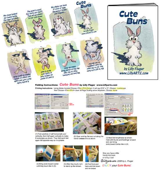 First Additional product image for - Cute Buns E-Book