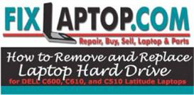 How to Remove and Replace Laptop Hard Drive