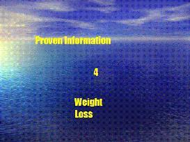 Proven Information 4 Weight Loss