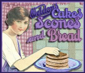 1920's british tea & scones ~ weldon cookbook~ 100 recipes