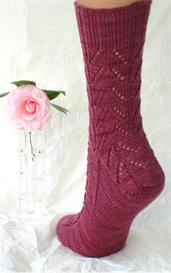 Down and Up Lace Socks knitting pattern - PDF | Other Files | Arts and Crafts