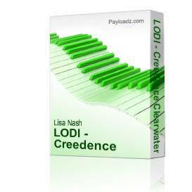 LODI - Creedence Clearwater Revival Guitar Chords | eBooks | Sheet Music