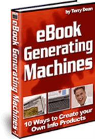 eBook Generating Machines | eBooks | Business and Money