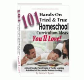 101 hands-on, tried & true homeschool curriculum ideas you'll love!