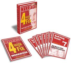 Marriage 4 Week Fix Program e-book + FREE Marriage 4 Week Fix e-Workbook + 7 FREE Self-Help Guides.  Reg. $149  ONLY 19.95! | eBooks | Self Help