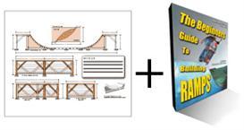 8ft wide Halpipe Plans & Ramp Guide Package | eBooks | Sports