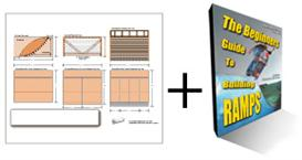 8ft wide Quarterpipe Plans & Ramp Guide Package | eBooks | Sports
