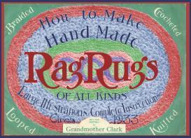 ~MORE Make RAG RUGS like Grandma~1933 Pattern~ | eBooks | Arts and Crafts