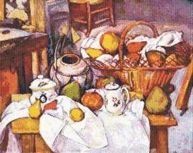Cezanne Still Life Cross Stitch Pattern | Other Files | Patterns and Templates