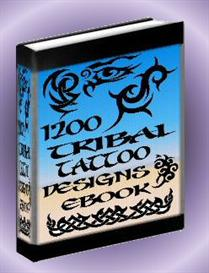 1200 Tribal Tattoo Designs | eBooks | Health