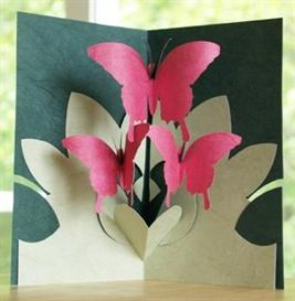 Butterfly Dance - EasyCutPopup | eBooks | Arts and Crafts