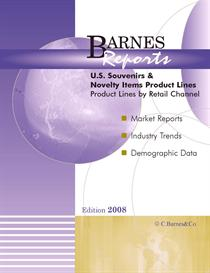 2008 U.S. Souvenirs and Novelty Items Product Lines | eBooks | Business and Money