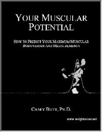 your muscular potential e-book