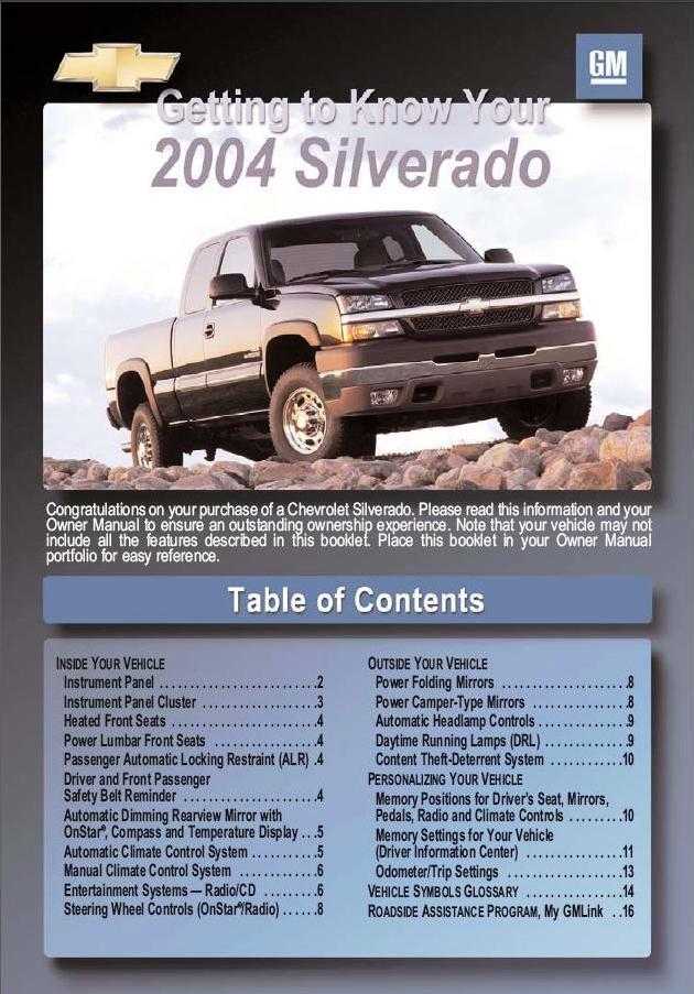 service manual  how to download repair manuals 2004 2004 Chevy Trailblazer SS 2004 Chevy Trailblazer Interior