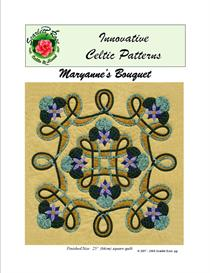 Maryanne's Bouquet applique pattern | Crafting | Sewing | Quilting