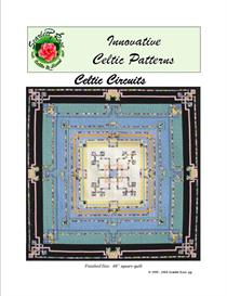 Celtic Circuits applique pattern | Crafting | Sewing | Quilting