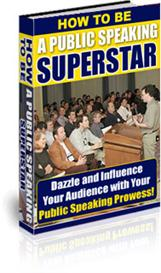 How to be a Public Speaking Superstar! | eBooks | Business and Money