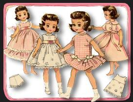 betsy mccall is all in pink~1950's pattern~7-9