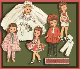 Sew Betsy McCall the BRIDE a gown & a wardrobe too! ~ Vintage Pattern | eBooks | Arts and Crafts