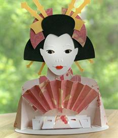 Geisha - EasyCutPopup | eBooks | Arts and Crafts