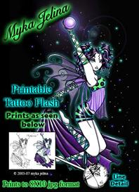 Sepheria Myka Jelina Printable Fairy Tattoo Flash | Other Files | Photography and Images