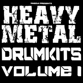heavy nu metal rock drums vol1 reason kontakt logic protools cubase fl studio 10