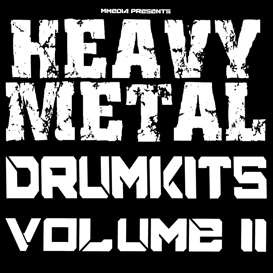 heavy nu metal rock drums vol2 reason kontakt logic protools cubase fl studio 10