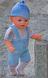 DollKnittingPatterns - 0080D STIAN - PANTS, BLOUSE, HAT AND SOCKS