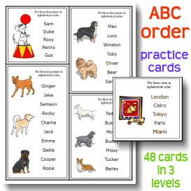 ABC Me!  Alphabetizing Activity Set | Crafting | Paper Crafting | Other