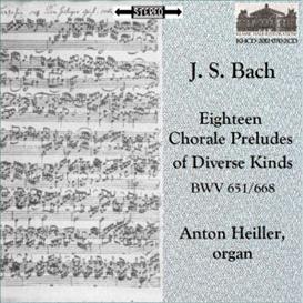 JS Bach: Eighteen Chorale Preludes BWV 651-688 - Anton Heiller , organ | Music | Classical