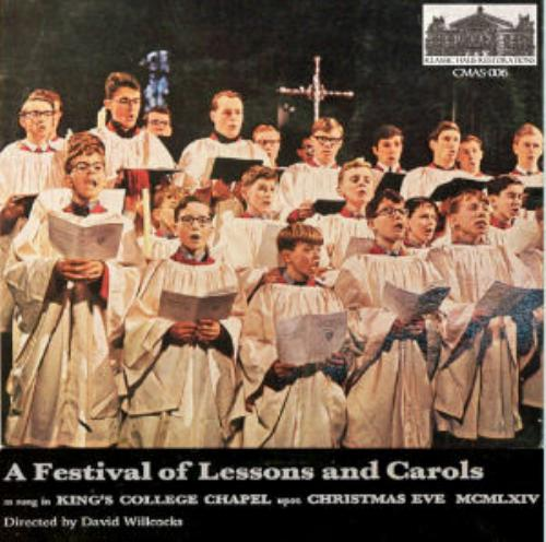 First Additional product image for - A Festival of Lesson and Carols as sung on Christmas Eve 1964 - King's College Choir, Cambridge/David Willcocks