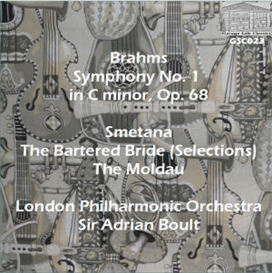 "Brahms: Symphony No. 1; Smetana: Music from ""The Bartered Bride""; Moldau from ""Ma Vlast"" - London Philharmonic Orchestra/Sir Adrian Boult 
