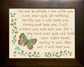 fear not - isaiah 41:10 & 13
