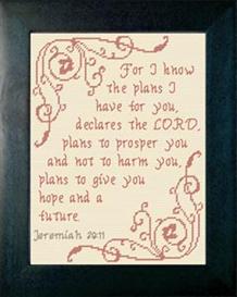 plans - jeremiah 29:11