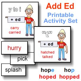Add Ed Printable Activity Set | eBooks | Education