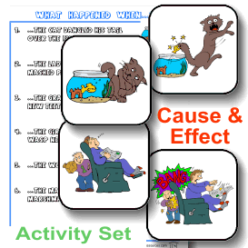 Cause and Effect Printable Activity Set | eBooks | Education