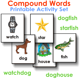 Compound Words Printable Activity Set | eBooks | Education