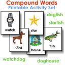 Compound Words Printable Activity Set | eBooks | Education