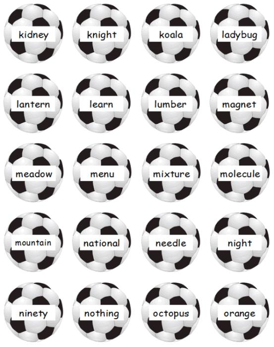 First Additional product image for - Guide Word Goalies Dictionary Skills Game