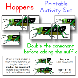 hoppers double the consonant activity