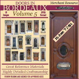 doors in bordeaux - complete 5-volume set