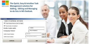 TASK IT! (General Edition - Automatically create and add Outlook task items from word document content via new toolbar / ribbon icon) | Software | Add-Ons and Plug-ins